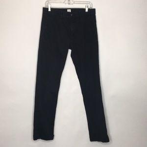 Gap black pants.  Size 30 x 32